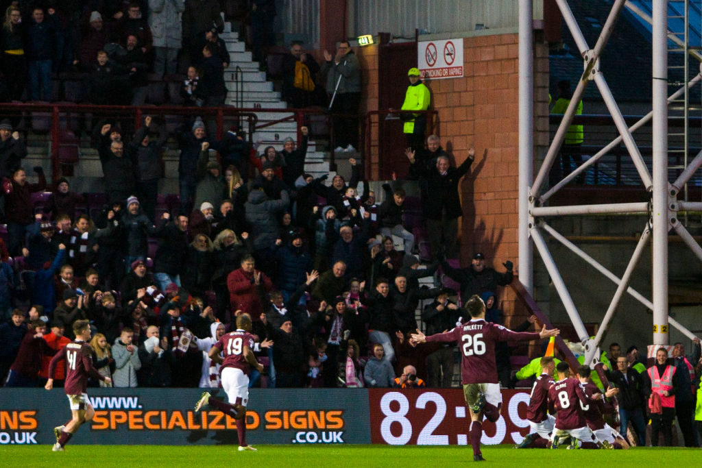 'A bit of luck' - Hearts boss pinpoints how Jambos stunned Rangers