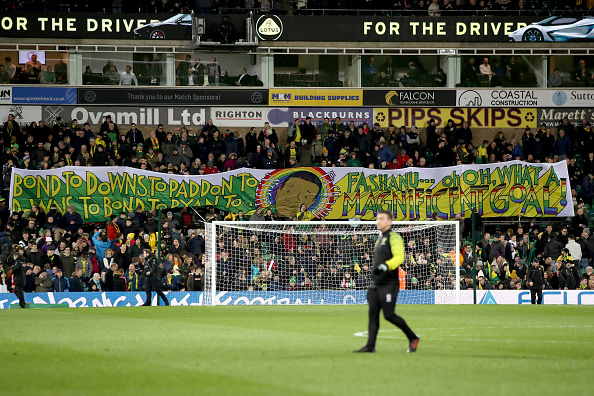 Justin Fashanu was commemorated by Norwich fans recently.