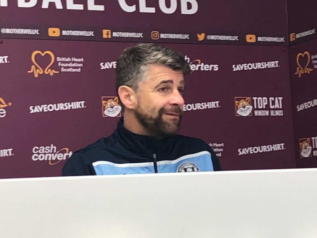 Motherwell boss Stephen Robinson lifts lid on 'ongoing talks'