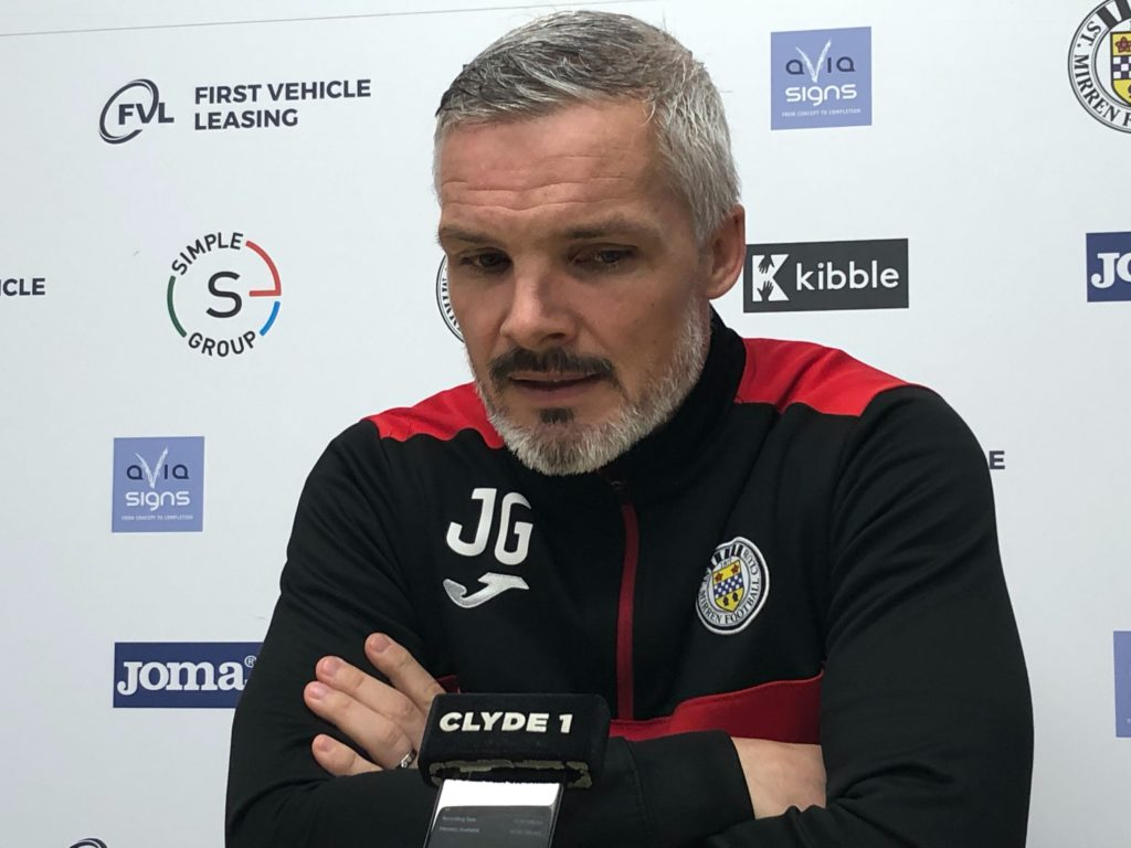 Jim Goodwin shares thoughts as St Mirren hit with more virus trouble