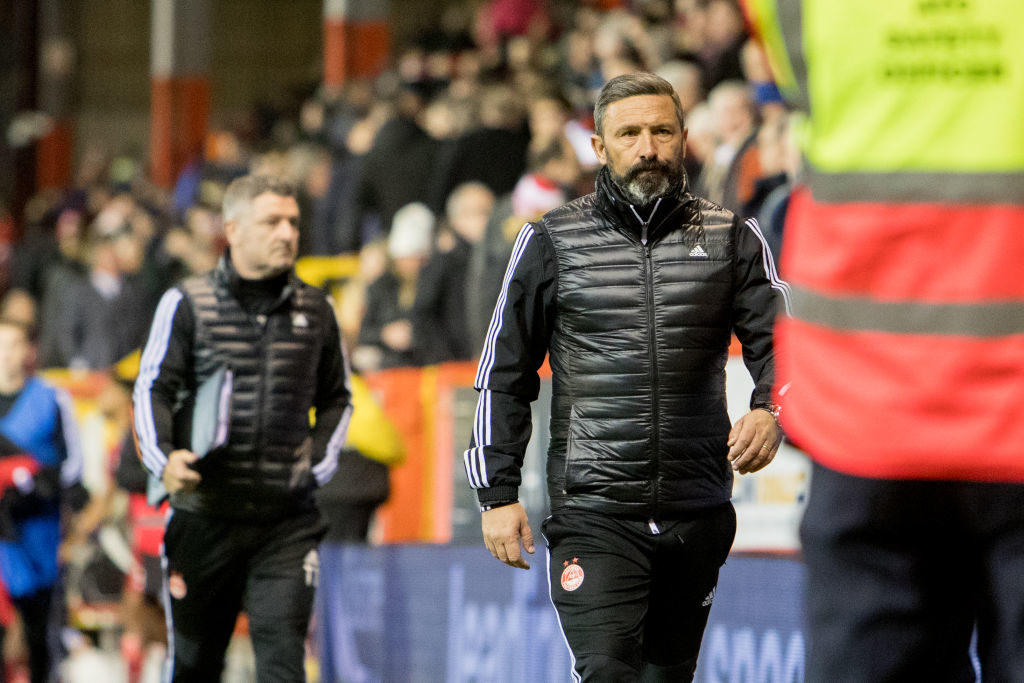 Derek McInnes provides triple Aberdeen fitness update, including on star man