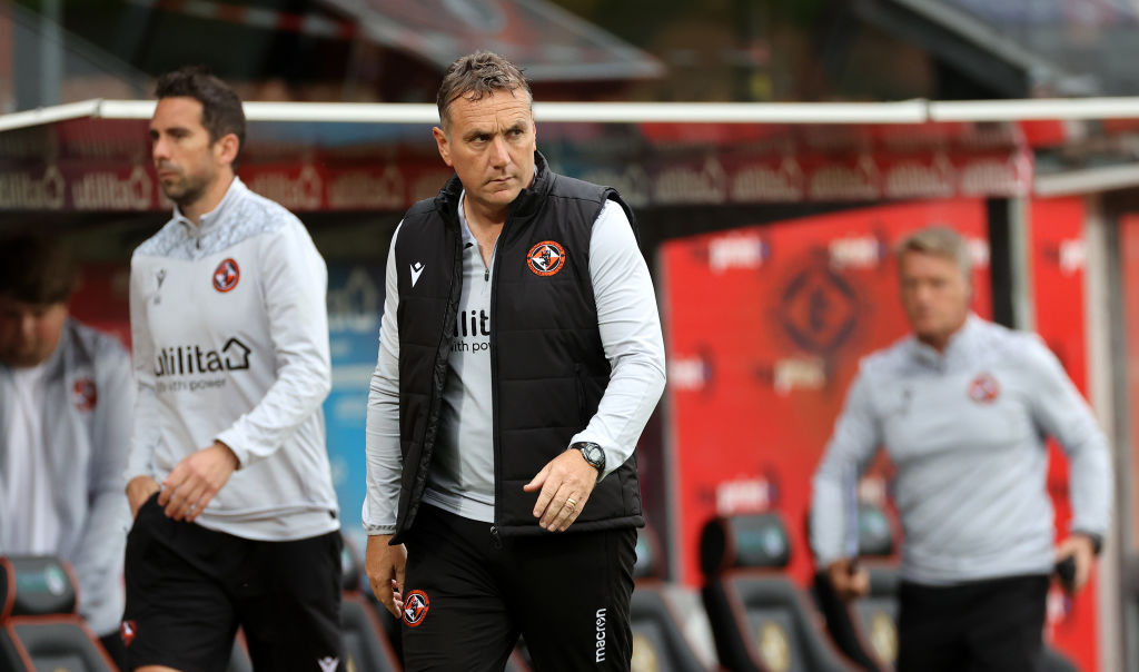 Micky Mellon reacts as Dundee United get a Premiership lesson in Ayrshire