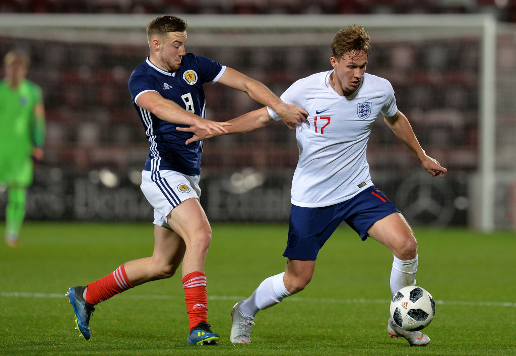 Scotland U21 v England U21 - 2019 UEFA European Under-21 Championship Qualifier