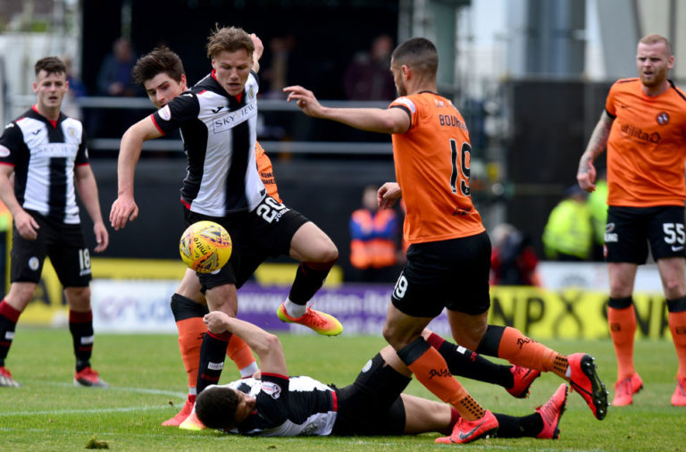 St Mirren v Dundee United - Ladbrokes Scottish Premiership Play-off Final