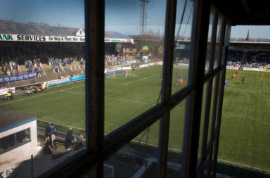United Kingdom - Dumfries - Queen of the South Football Match