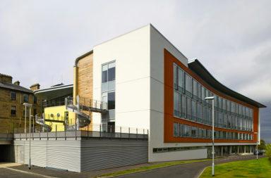 Napier University, one of the biggest Business Schools in Scotland, Edinburgh.