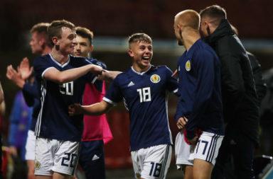 Scotland v Germany - UEFA Under 19 European Qualifier