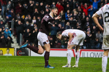 Hearts v Hamilton Academical - Ladbrokes Scottish Premiership