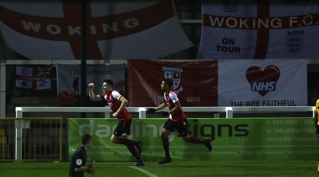 Woking v Dagenham and Redbridge - Vanarama National League