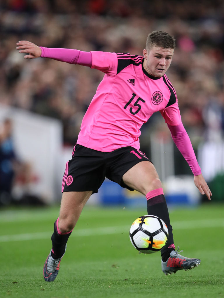 England U21 v Scotland U21 - UEFA European Under 21 Championship Qualifiers