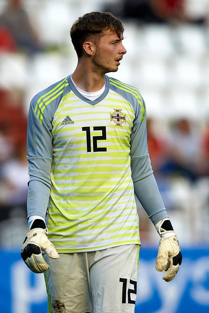 Conor Hazard is Northern Ireland's third choice goalkeeper