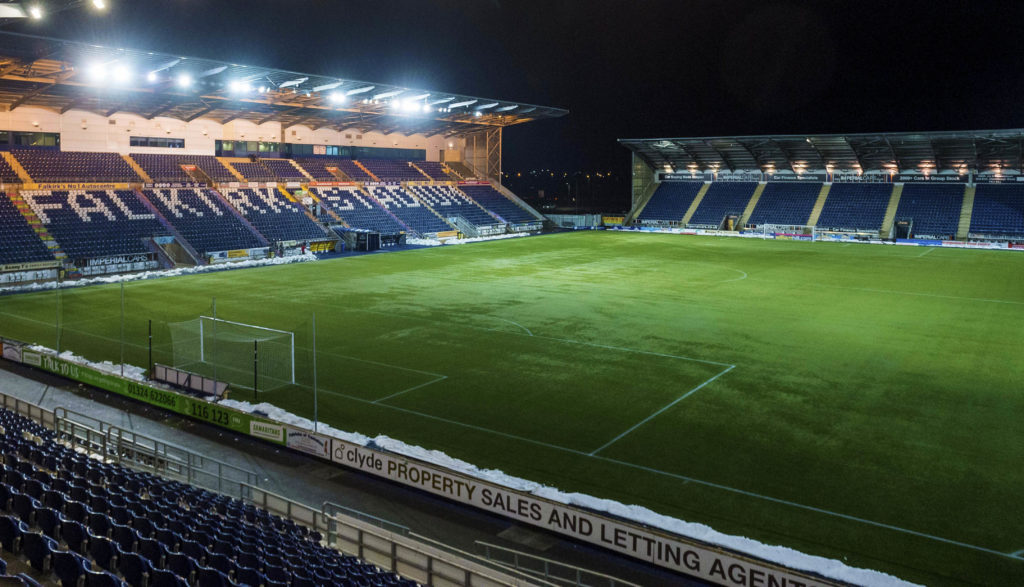 Falkirk 2-1 Peterhead: Bairns open up four point lead with comfortable win