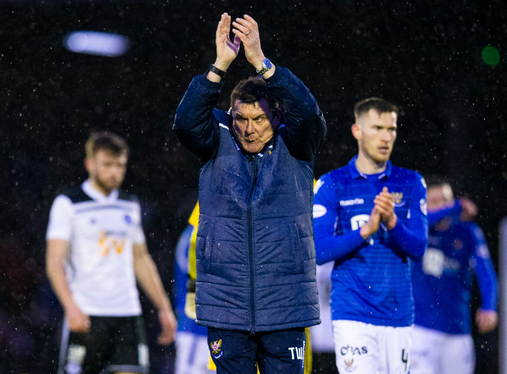 Tommy Wright did great things at St Johnstone