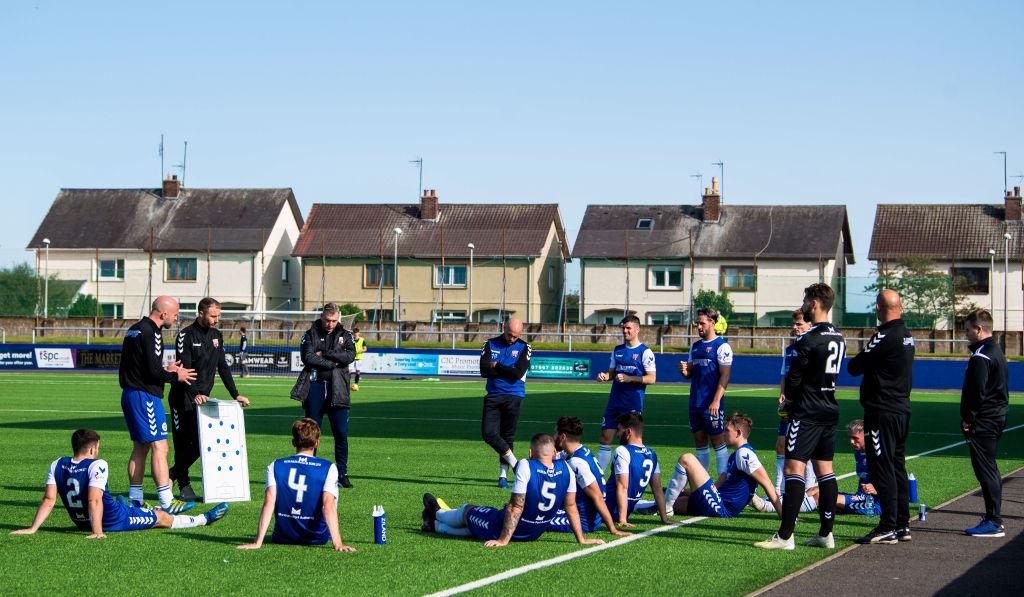 Montrose vs Dundee Pre-Season Friendly Match