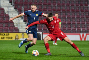 Scotland v Czech Republic - UEFA Under 21 Championship Qualifier