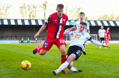 Ayr United v Dunfermline - Scottish Championship