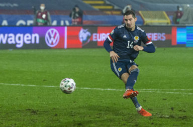 Kenny McLean scores against Serbia