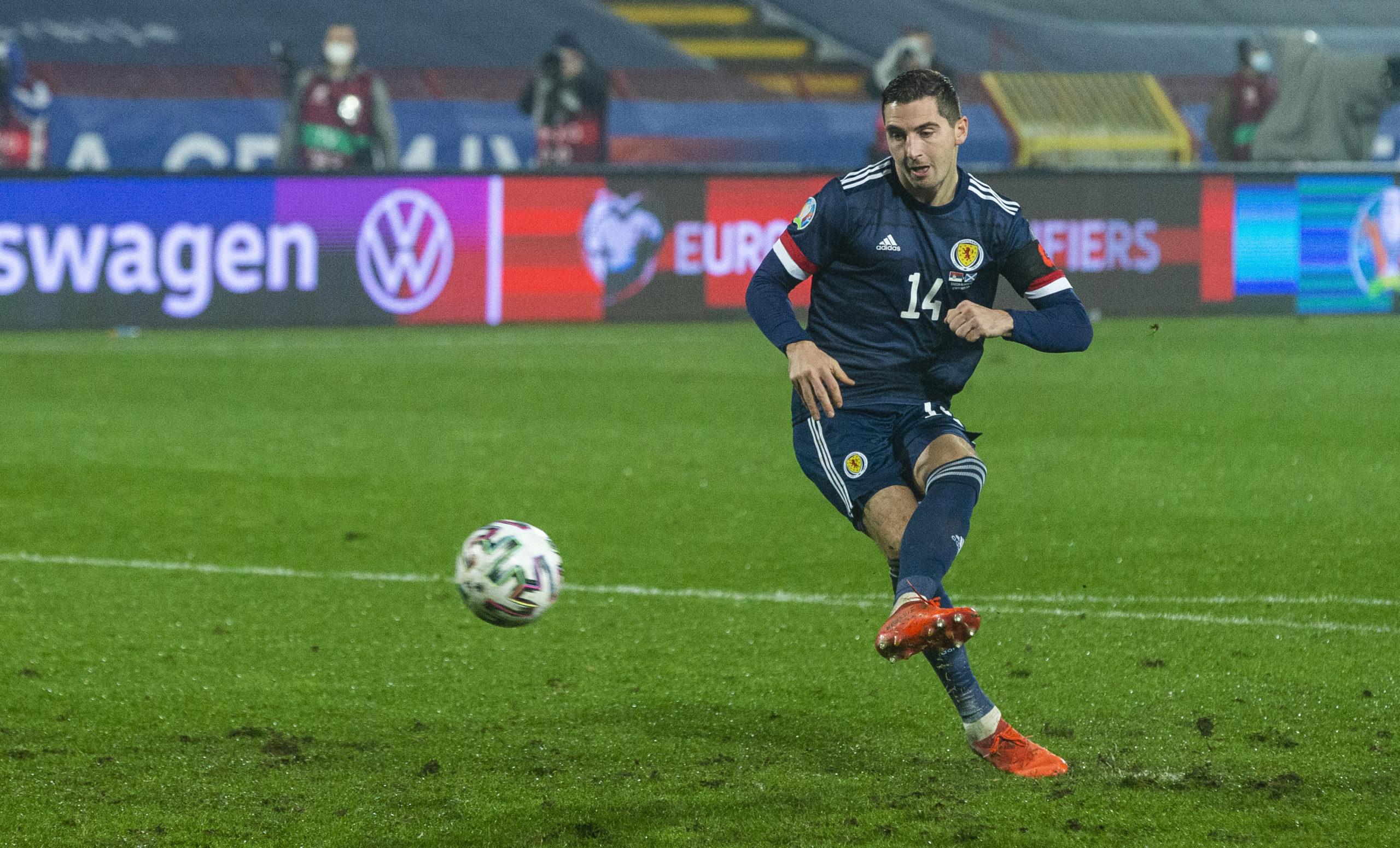 Kenny McLean scores against Serbia