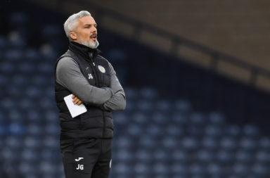 St Mirren manager Jim Goodwin