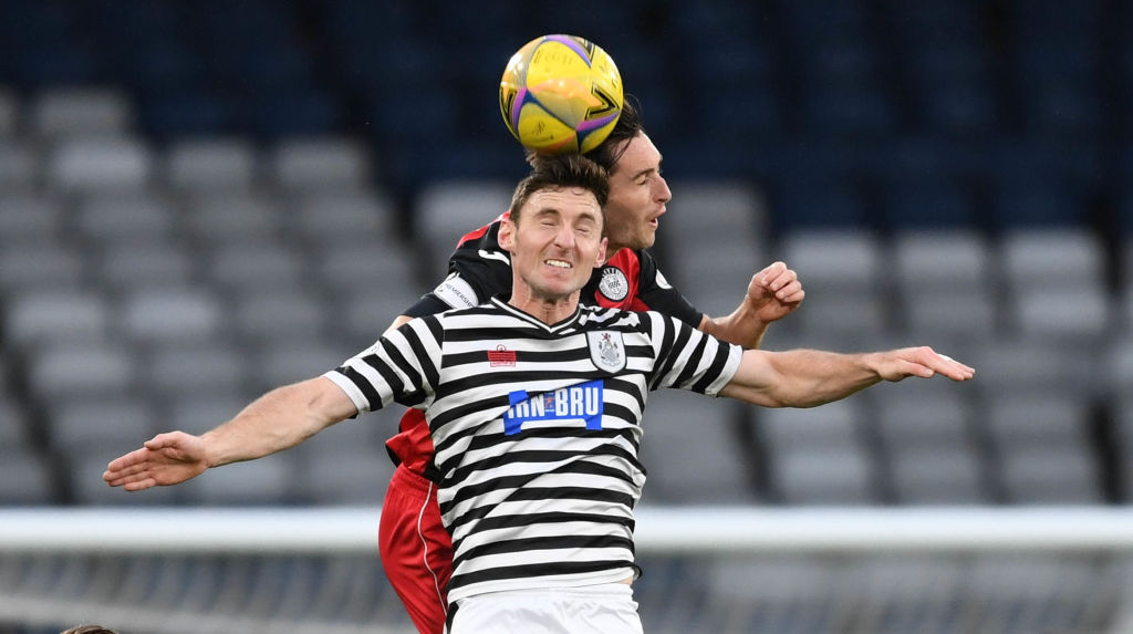 Queens Park v St Mirren - Betfred Cup