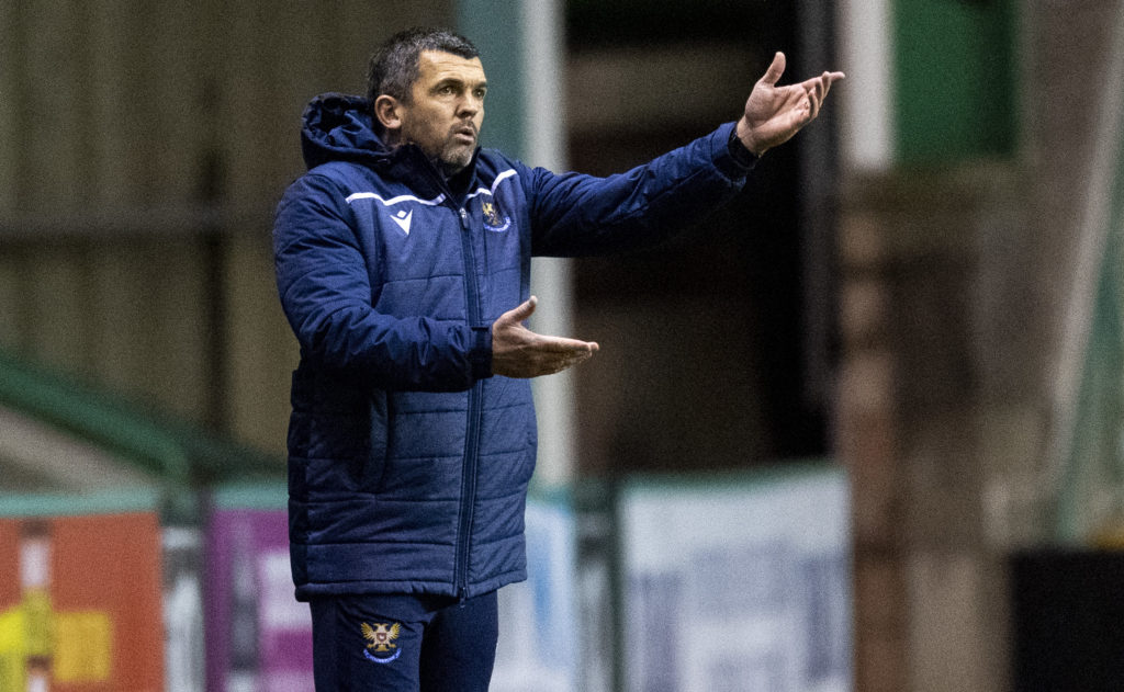 'Really difficult' - St Johnstone boss admits it will take time for striker to get up to speed
