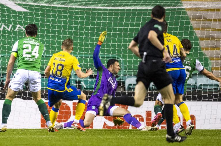 Ali McCann scores for St Johnstone