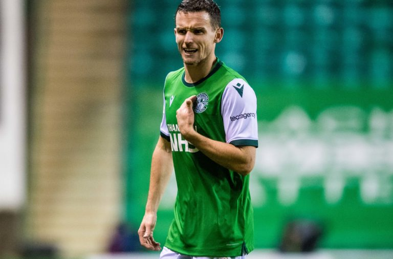 Paul McGinn scored twice for Hibs vs St Johnstone