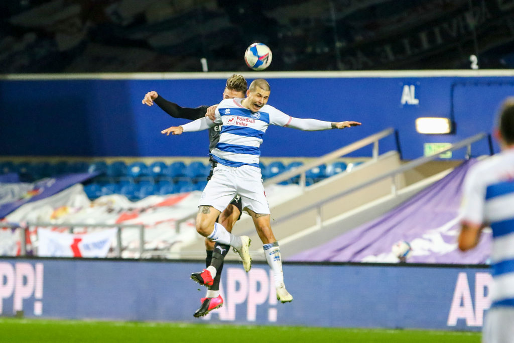 Lyndon Dykes in action for QPR