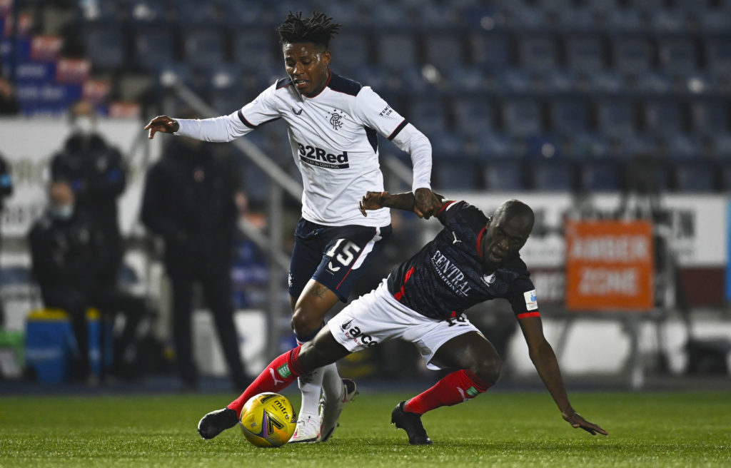 Falkirk 0-4 Rangers: Bairns League Cup adventure comes to an end