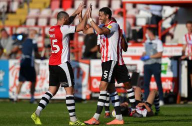 Exeter City v Colchester United - Sky Bet League Two Play Off Semi-final 2nd Leg