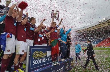 Hibernian v Hearts - Scottish Cup Final