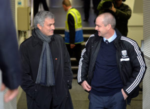 Former Tottenham Hotspur manager Jose Mourinho worked with Clarke at Chelsea.