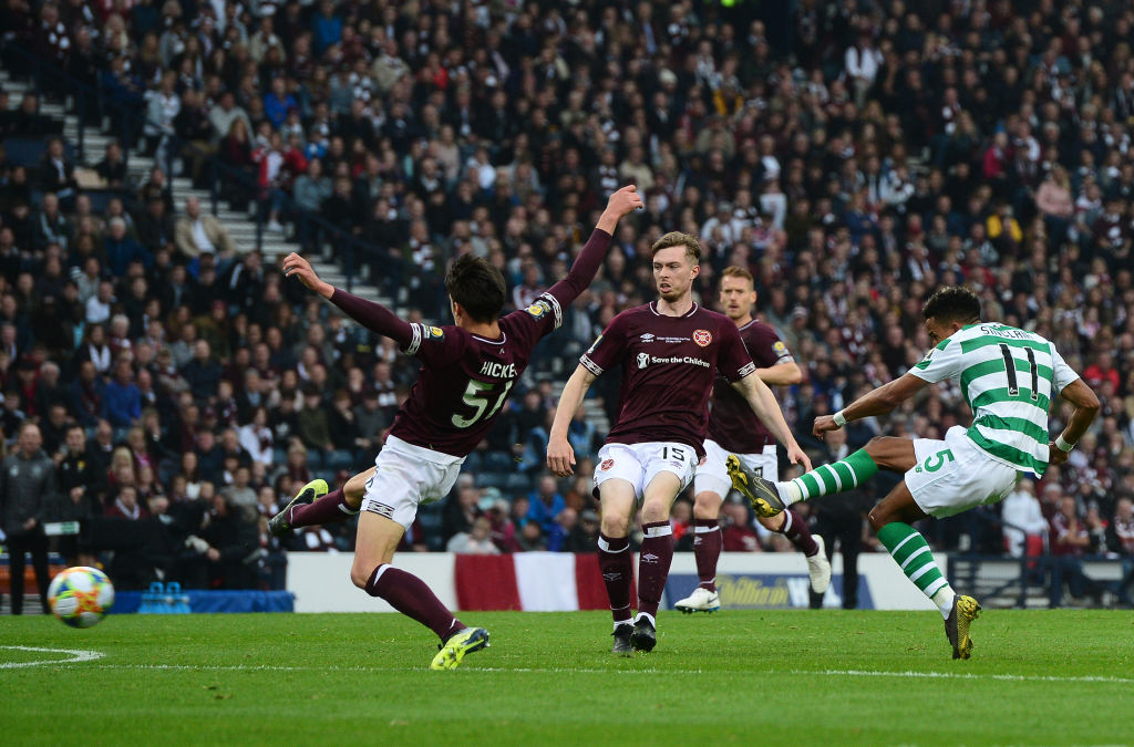 Celtic and Hearts faced each other in the 2019 Scottish Cup Final