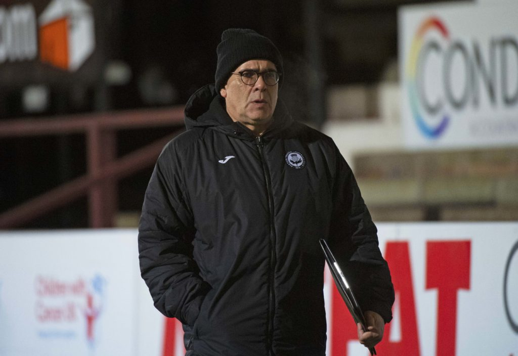 Partick Thistle manager Ian McCall explains 'frustration' with 0-0 Falkirk draw