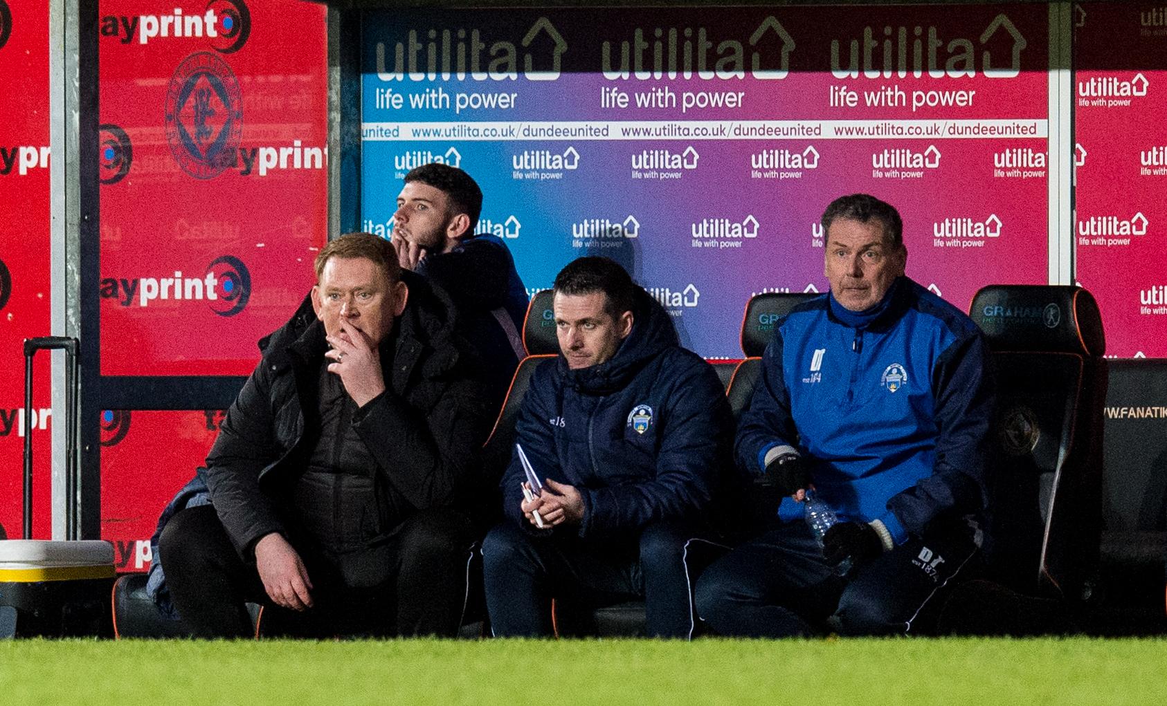 Dundee United v Greenock Morton