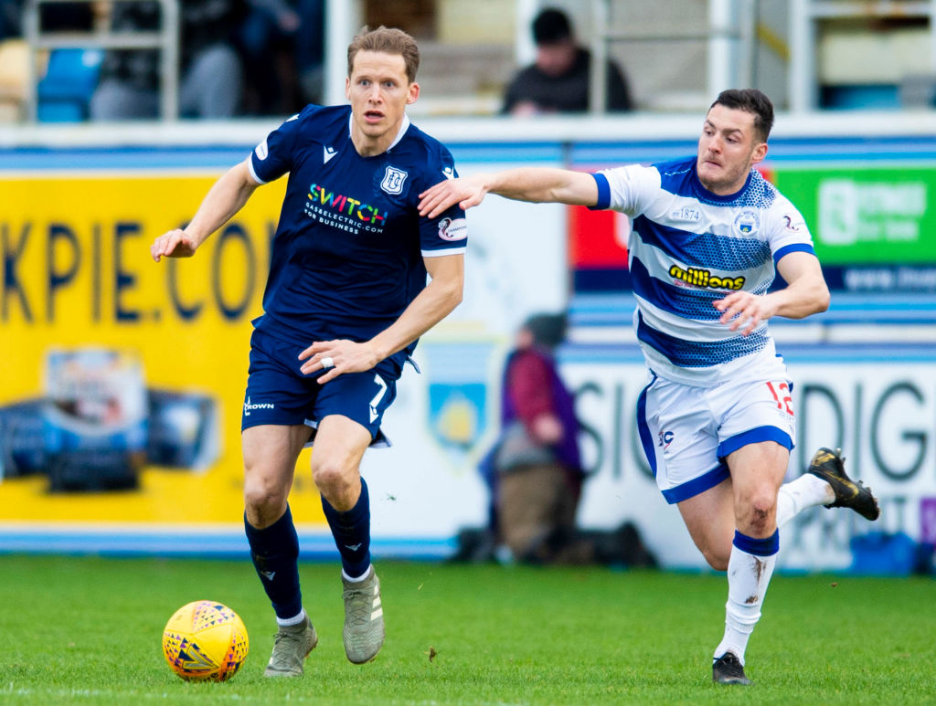 'He's manhandled them' - McElhone full of praise for attacker as Morton go third