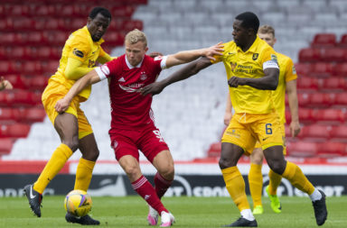 Aberdeen v Livingston - Ladbrokes Scottish Premiership