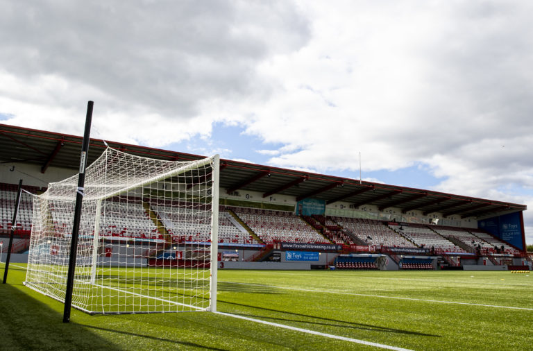 Hamilton Academical v Rangers - Ladbrokes Scottish Premiership