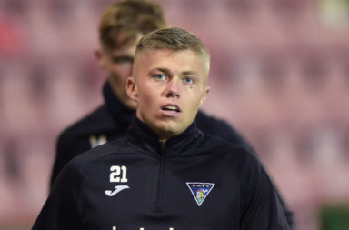 Fraser Murray is on loan at Dunfermline from Hibernian