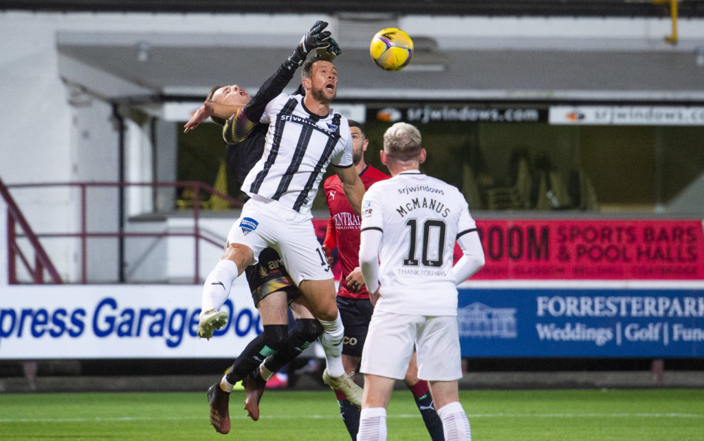 'Bringing out the best' - Falkirk star is enjoying first-team battle with Motherwell loanee