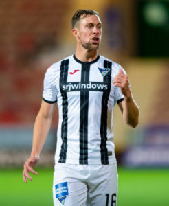 Steven Whittaker has yet to taste defeat as a Dunfermline player