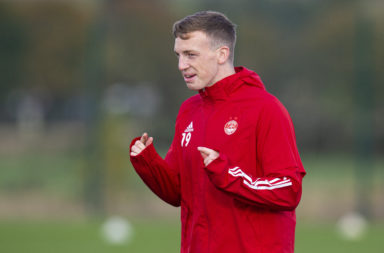Lewis Ferguson is set to return for Aberdeen against St Mirren