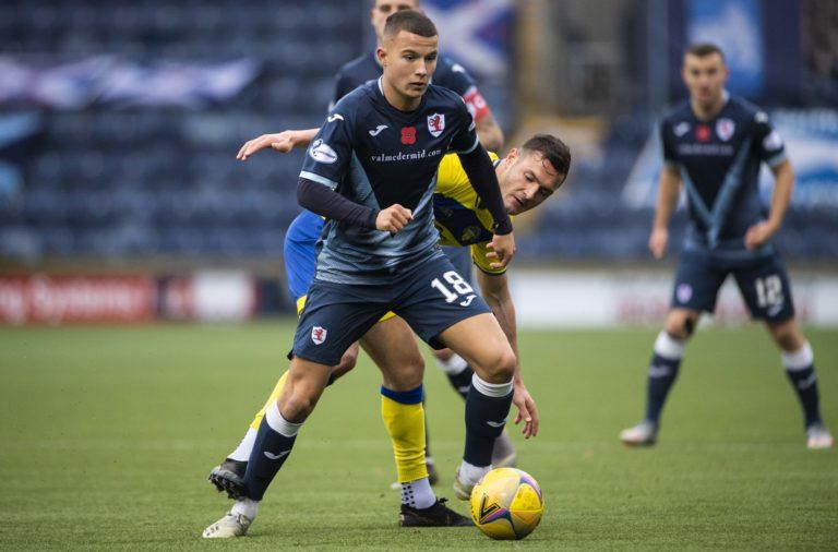hibs Raith Rovers v Greenock Morton - Scottish Championship