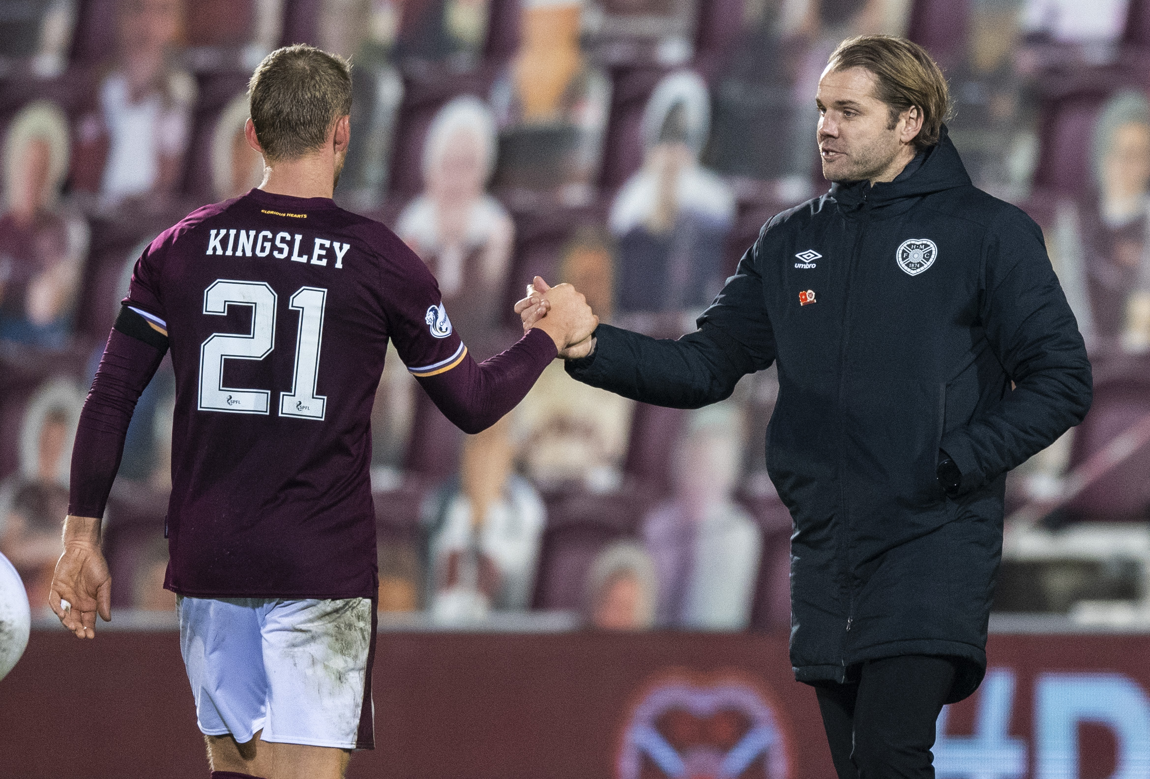 Stephen Kingsley and Robbie Neilson