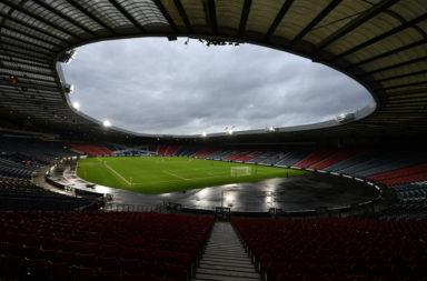 Hampden Park, the home of Scottish football