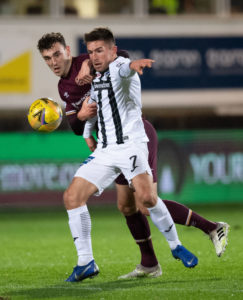 O'Hara had plenty of chances for Dunfermline but couldn't beat Raith Rovers.