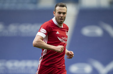 Aberdeen's Andrew Considine in action