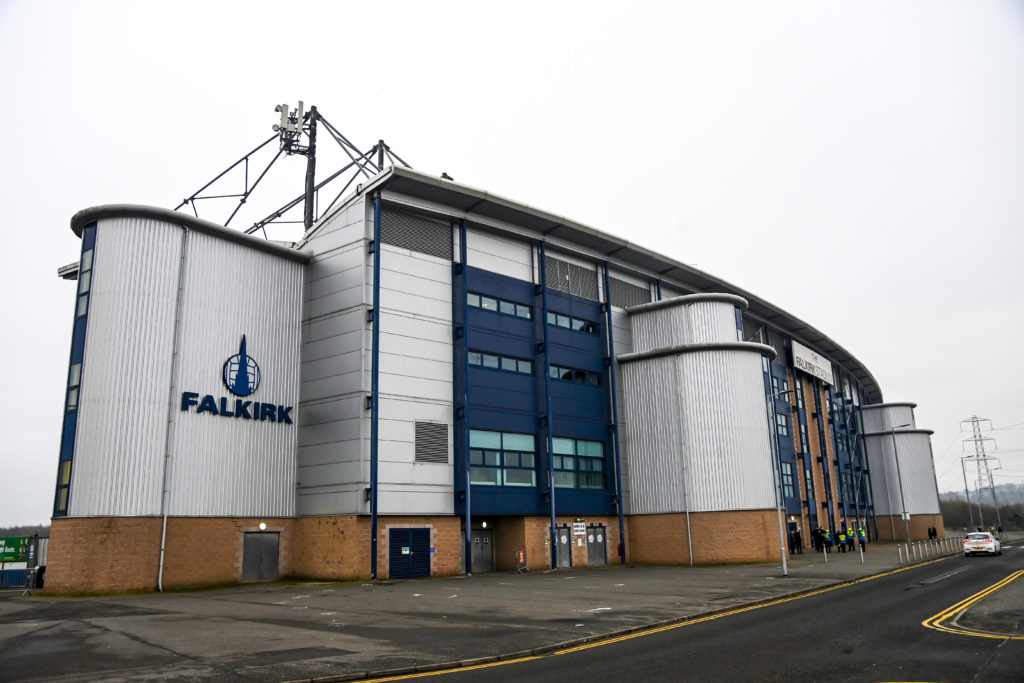 spfl Falkirk v Rangers - Betfred Cup