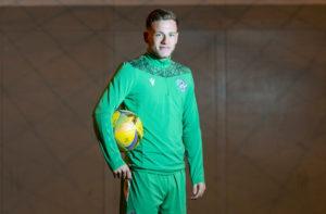 Hibernian striker Jamie Gullan