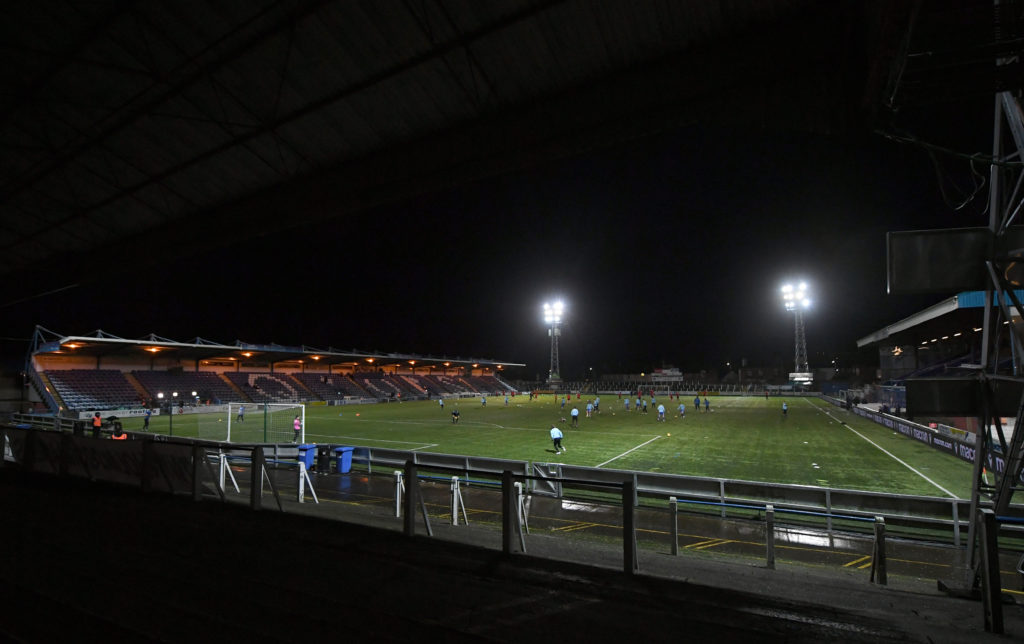 Championship side seek approval for fans return; Dundee clash would be test event